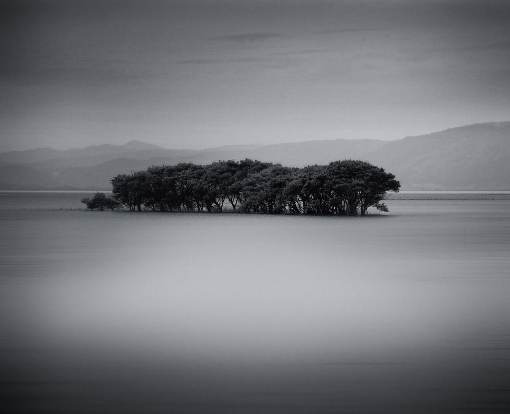 Landscape in B&W