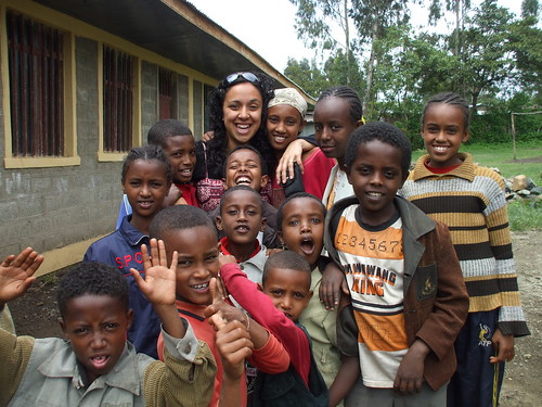 Michelle Tiatia in Ethiopia