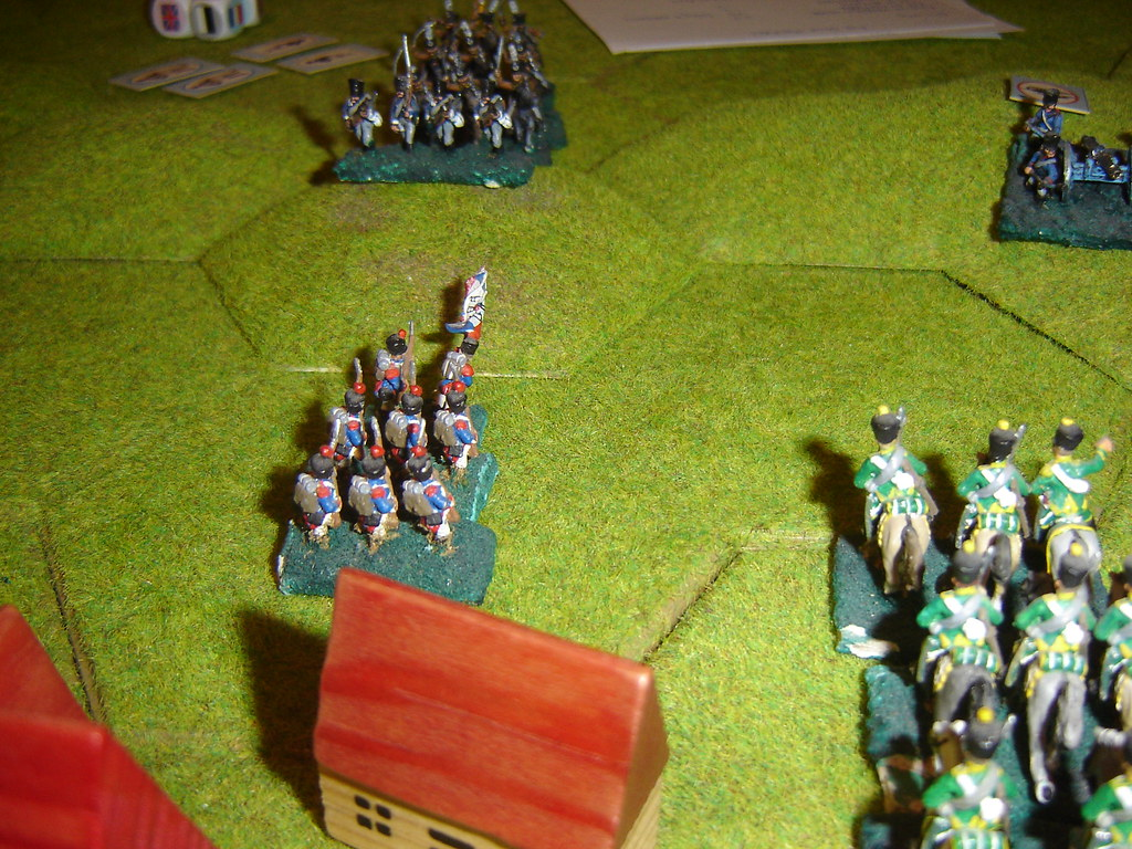 French advance beyond Bierge Mill
