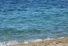 Greek summer (venetia koussia) Tags: blue seagulls swimming sundown geranium rockybeach sandybeach sporades skiathosisland summeringreece  greekfona