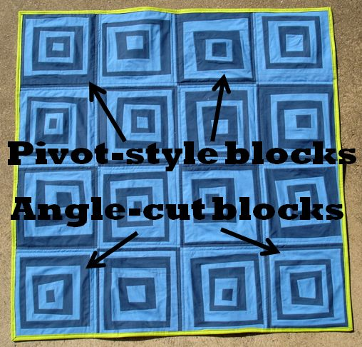 Advice on making wonky quilt blocks: pivots versus angles