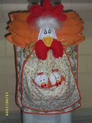 capa bombona (GURIA ARTEIRA!) Tags: galinha artesanato bombona capaagua