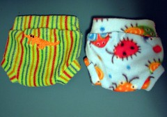 Adorkable 3 (Turtblu) Tags: baby clothing handmade sewing craft diaper homemade fleece soaker diapercover clothdiapering