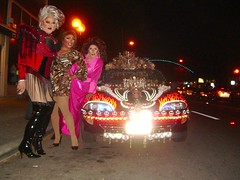 Additional Drag at Art AlFresco (That Car) Tags: pink columbus ohio red camp art leather print drag al tiger north group performance pride dental lips queen wig short mascara fabulous stiletto fresco thatcar kover