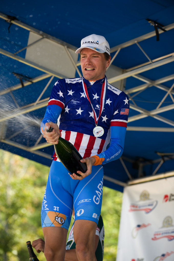 Four-in-a-row! Zabriskie wins another US time trial championship!