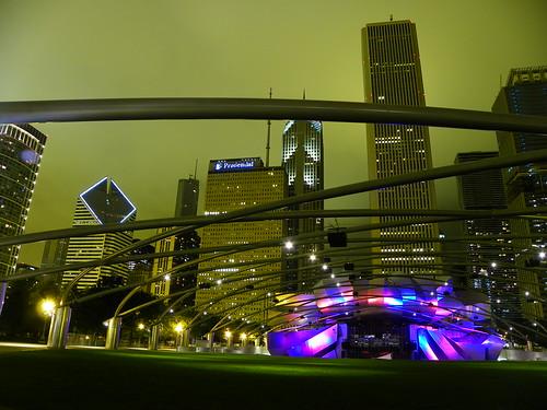 Chicago Millenium Park - Jay Pritzker Pavilion