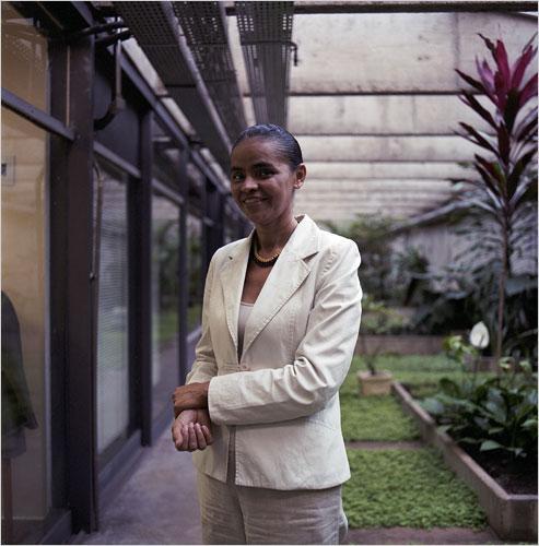Madam Candidate Marina Silva