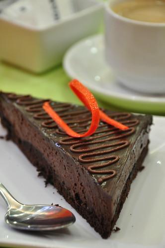 Chocolate Orange Truffle Cake, Php 99