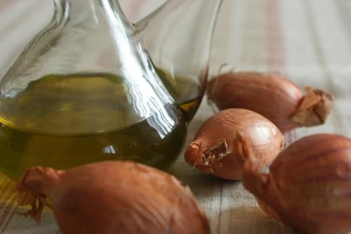 Olio aromatizzato allo scalogno