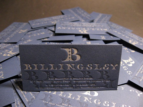 BIllingsley Business Cards