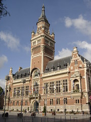 Dunkerque: Htel de Ville (harry_nl) Tags: france cityhall unesco belfry 2009 dunkerque hteldeville beffroi louismariecordonnier