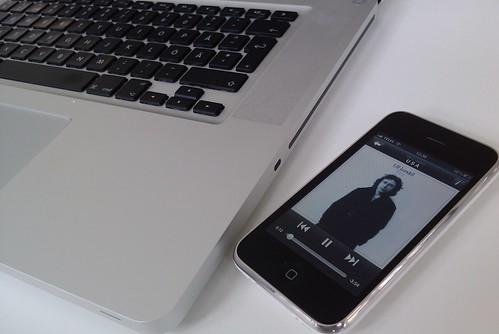 Batteritid, Spotify och iPhone