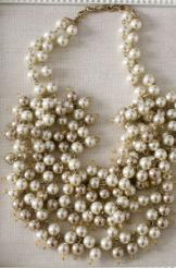 sofia pearl bib necklace