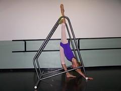 Arabesque Penche V1 (StretchGym) Tags: stretch gym flexibility arabesque penche