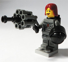 Space Police Girl (Scrat_) Tags: lego fig space iii police sp wars minifig lugpol