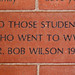 TO THOSE STUDENTS WHO WENT TO WWII DR BOB WILSON 1946