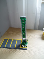 Diner (6) (Mad physicist) Tags: america model lego miami workinprogress diner wip artdeco minifig minifigure brickish minifigscale bricksboro bricksborobeach