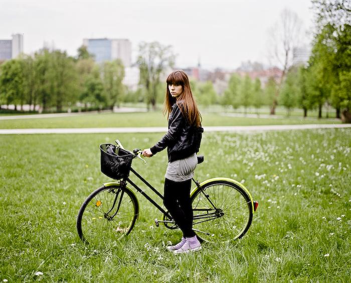 Slovenian Girl, Ljubljana Street Fashion @ Tivoli Park, Ljubljana, Slovenia
