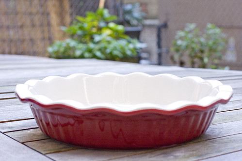 ceramic deep dish pie plate