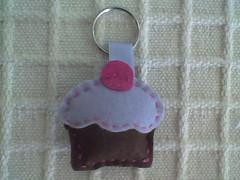 Cup cake (Atelier Maria Bonita) Tags: patchwork lembrancinhas chaveiros chaveirofeltro artesanatocuiab patchworkcuiab feltrocuiab