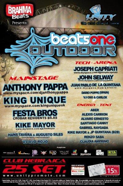 Beats One Outdoor 2009 - Club Hebraica