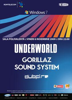 Underworld, Gorillza Sound System & Dubfire