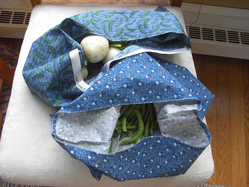Fabric Produce Bags - with produce
