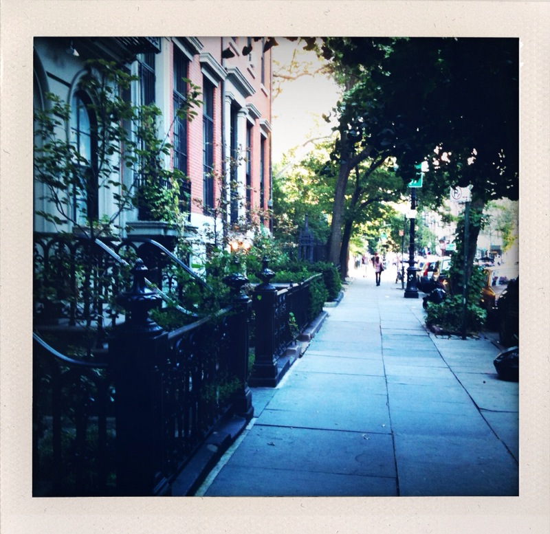 walking to the east village