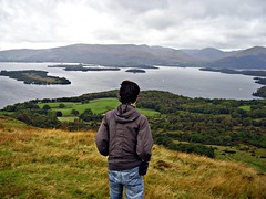 Admiring The Loch (Click And Pray) Tags: scotland lochlomond balmaha conichill viewfromthehill