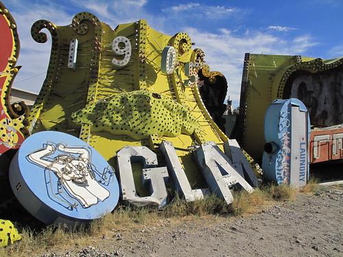 Las Vegas Neon Museum Sign Boneyard