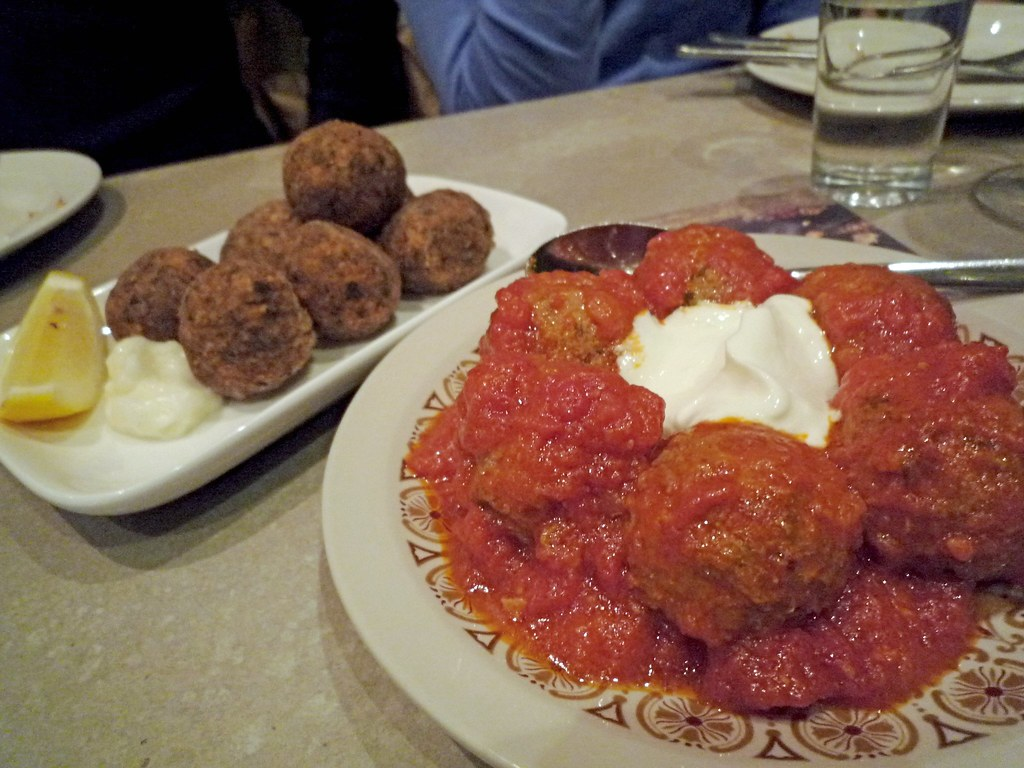 Fried fish kofte, Persian meatballs