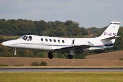 G-JETO - 550-0441 - Private - Cessna 550 Citation II - Luton - 091008 - Steven Gray - IMG_0041