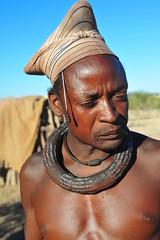 traditional himba man (luca.gargano) Tags: africa tribal tribe himba angola ovahimba himbas muhimbas muhimba