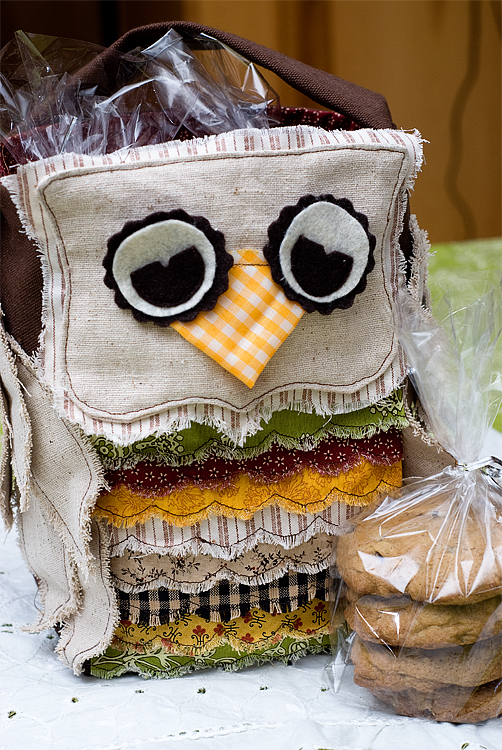 treat bag fall owl finished