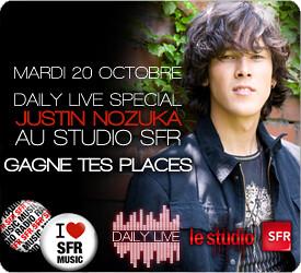 Gagnez vos places pour assister à l'émission spéciale Justin Nozuka au studio SFR ! - Page 2 4011836028_0f0c929fd7