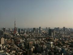 東京ミッドタウン33階からの景色