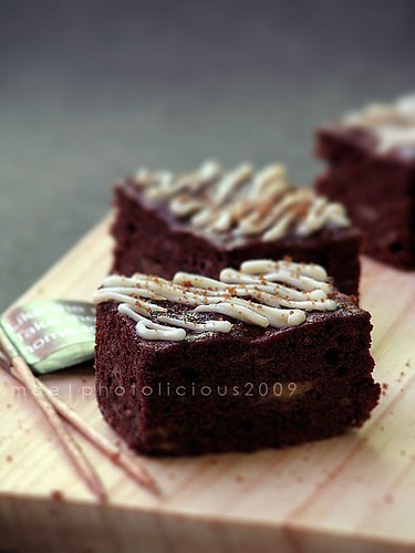 Steamed Banana Brownies