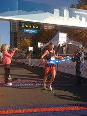 Chris Siemers winner of the Denver Marathon