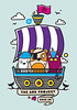 Ahoy There (Superfex*) Tags: illustration pirates tshirt endangered ark lafraise dgph superfex