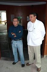 Al Venegas y Félix Gil