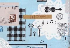 MUSIC AND DOLLIES - DETAIL 2 (carol-san*) Tags: cute japanese fabric patchwork supplies japon japones crafting haber japonais telas zakka manualidades japaner japons materiais materiales japanische tissus retales fatquarter tezukury teicdo zawaii