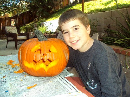 Matts pumpkin 09
