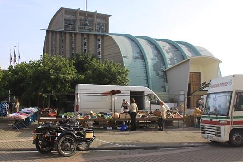 Street Market; Bleriot Plage