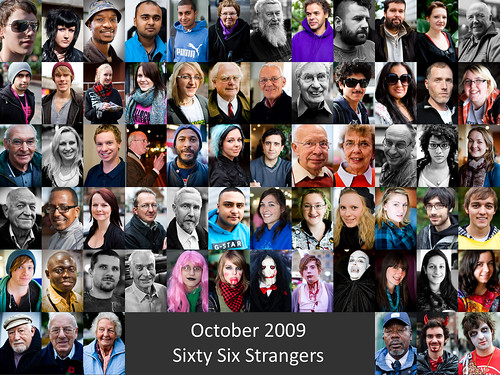 October 2009 - Sixty Six Strangers
