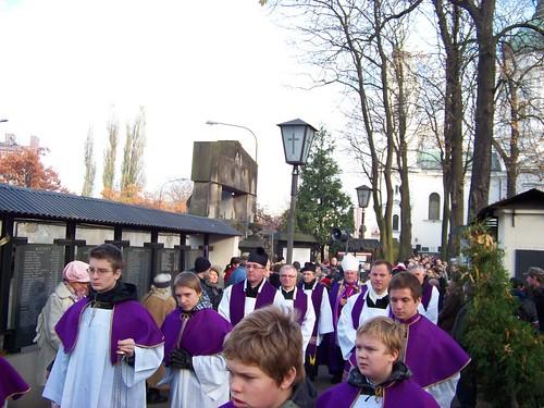 Giáo chủ Warszawa Kazimierz Nycz chủ trì lễ rước thánh giá