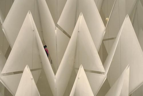 Vitrines Yohji Yamamoto - paris octobre 2009
