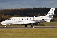 D-CAJK - 560-5670 - Private - Cessna 560XL Citiation XLS - Luton - 091104 - Steven Gray - IMG_3415