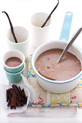 spiced chocolate bisque