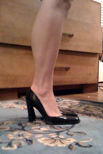 My new Dolce & Gabbana pumps - $25 thrift store find!