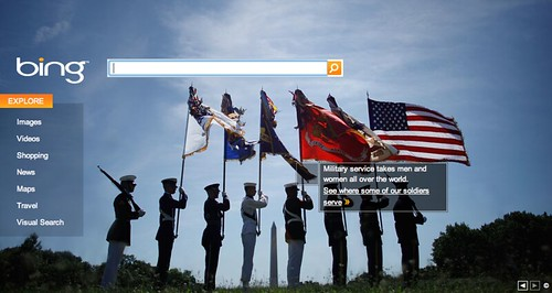 Veterans Day at Bing